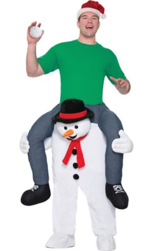 Adult Snowman Ride-On Costume