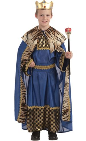 Boys King of the Kingdom Costume