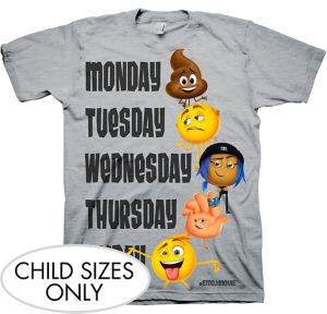 Child The Emoji Movie T-Shirt