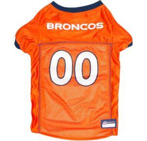 Denver Broncos Dog Jersey – Orange | ahomewithpets.com