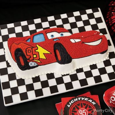 Cars Birthday Cake How To