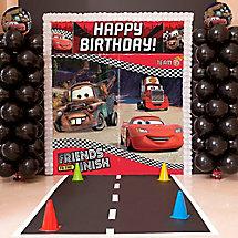 Cars Balloon Tower DIY