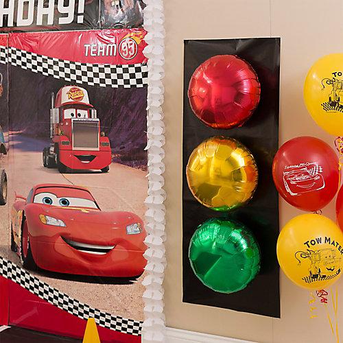 Cars Stoplight Balloons DIY
