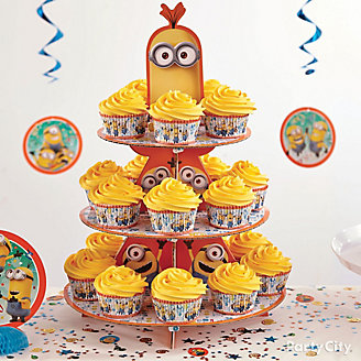 Despicable Me Cupcake Tower How To