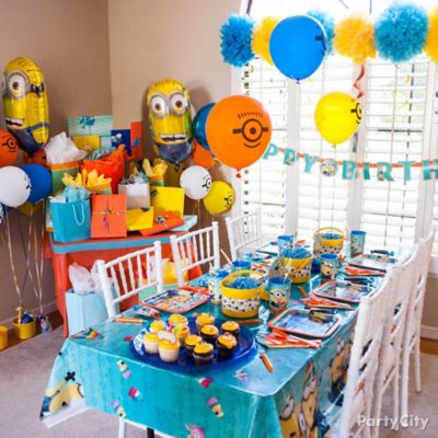 Despicable Me Party Room Idea
