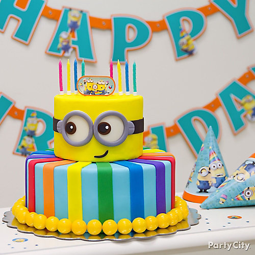 Despicable Me party supplies are a great way to decorate your birthday party or other celebration in Despicable Me movie fashion. Add our colorful tableware, cool Despicable Me cake decorations, and other themed party items to your party scene to help recall your favorite parts of the movie.