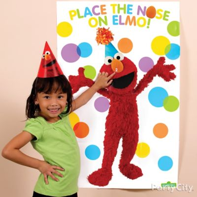 Elmo Pin-It Game Idea