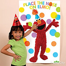 Elmo Pin-It Game Idea