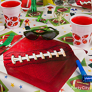 Football Place Setting Idea