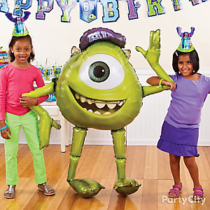 Monsters University Gliding Balloon Idea