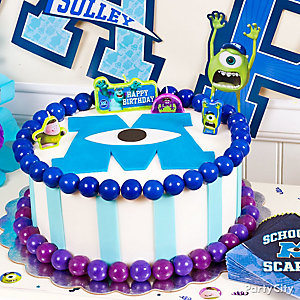 Monsters University Fondant Cake How To