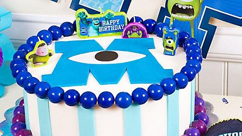 Monsters University Fondant Cake How To