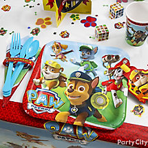 PAW Patrol Place Setting Idea