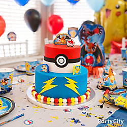Pokemon Fondant Cake How To