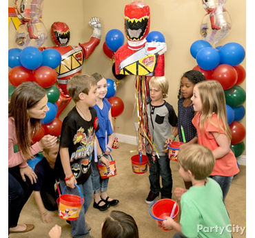 Power Rangers Pinata Game Idea