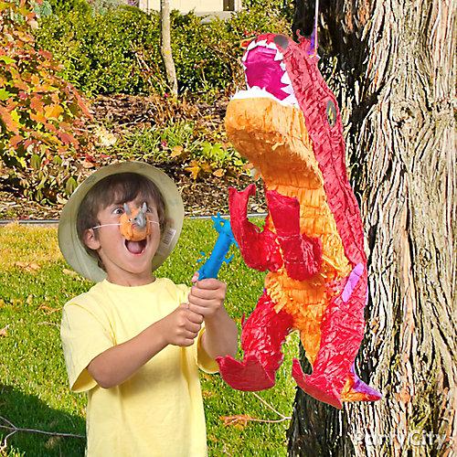 Prehistoric Dinosaur Pinata Game Idea