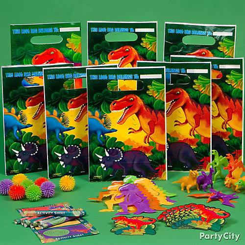 Prehistoric Dinosaur Favor Pack for 8 Idea