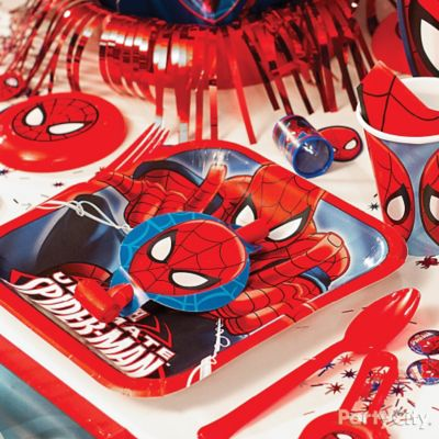 Spider-Man Place Setting Idea