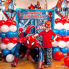 Spider-Man Balloon Column Idea