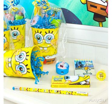SpongeBob Favor Cup Idea