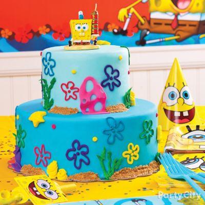 SpongeBob Fondant Cake How To Cake Cupcake Ideas SpongeBob