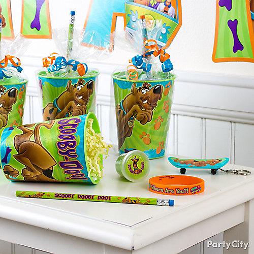Scooby-Doo Favor Cup Idea
