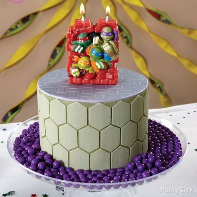 TMNT Shell Cake How To