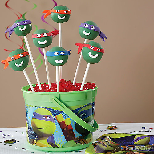 TMNT Doughnut Pops How To