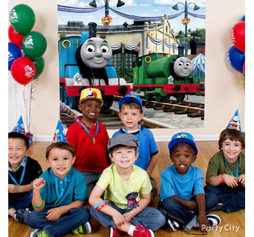 Thomas Photo Booth Idea