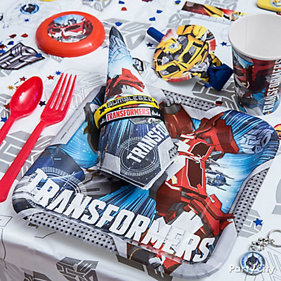 Transformers Place Setting Idea