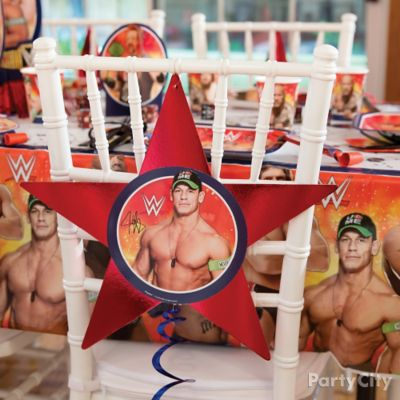WWE Chair Deco DIY