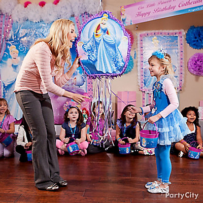 Cinderella Pinata Game Idea