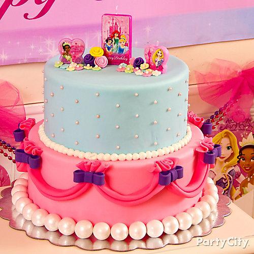 Disney Princess Fondant Cake How To