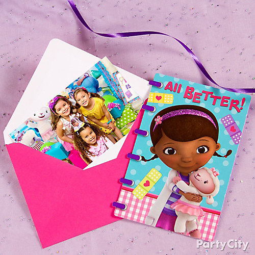 Doc McStuffins Thank You Note Idea