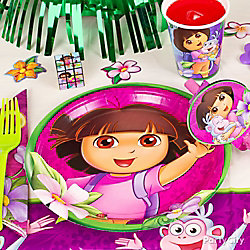 Dora Place Setting Idea