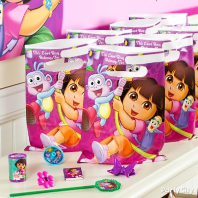 Dora Favor Pack for 8 Idea