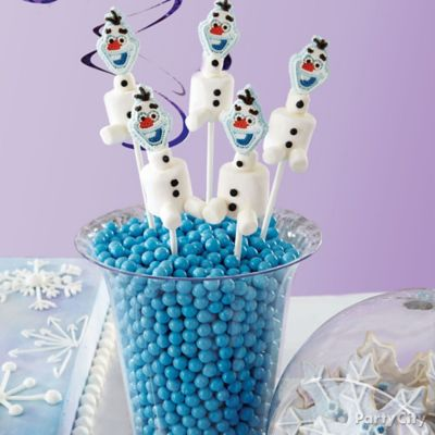 Frozen Olaf Marshmallow Pops How To
