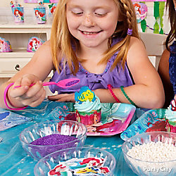 Little Mermaid Cupcake Decorating Idea