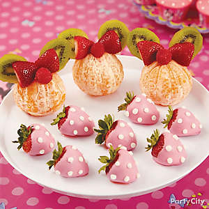 Minnie Mouse Candy-Covered Strawberries How To