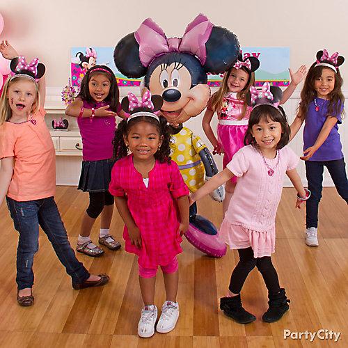 Minnie Mouse Dance Party Idea