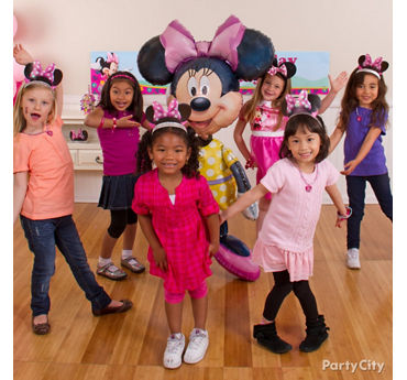 Minnie Mouse Dance Party Idea