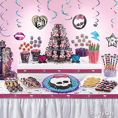 Monster High Treats Table Idea