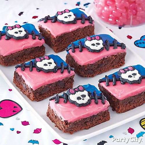 Monster High Brownies How To