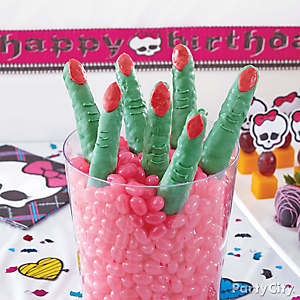 Monster High Crisped Rice Fingers How To