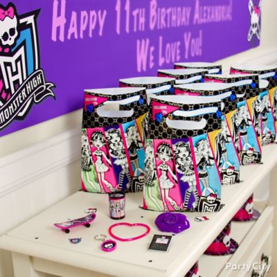 Monster High Favor Pack for 8 Idea