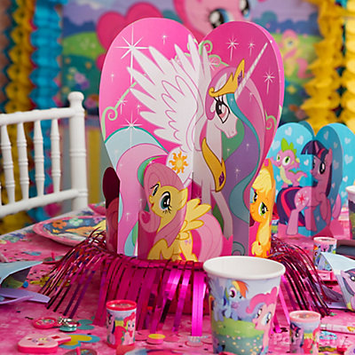 My Little Pony Centerpiece Idea
