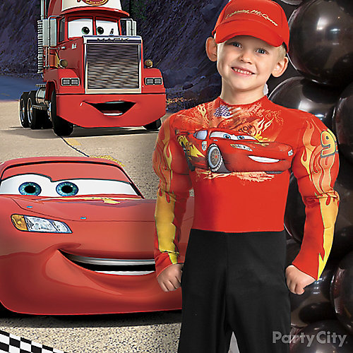 Cars Birthday Costume Idea