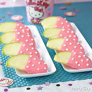 Hello Kitty Candy Apples How To