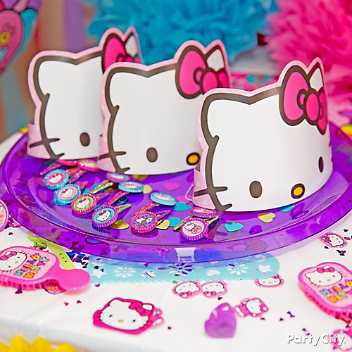 Hello Kitty Favor Display Idea