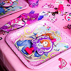 Sofia the First Place Setting Idea